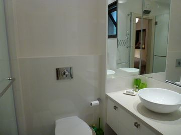 The bathroom en suite of the master bedroom