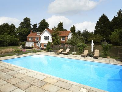 Large Country Home With Pool And Far Reaching Views Across Dedham Vale