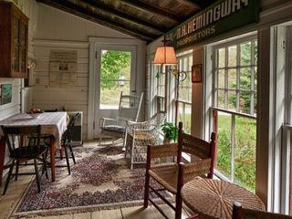 Lamoine lodge photo - .Eastern Sun Porch