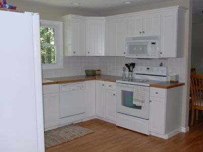 Silver Lake cottage rental - Kitchen