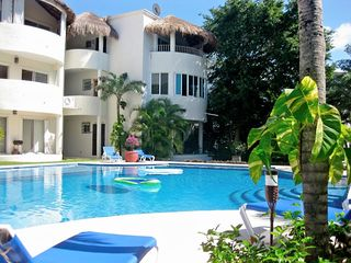 Playa del Carmen condo photo - Casa de Sueno is the top right unit in this photo.