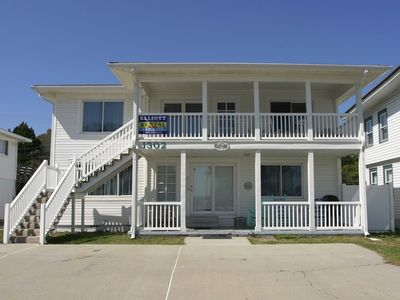 Front view of our beautiful family beach home