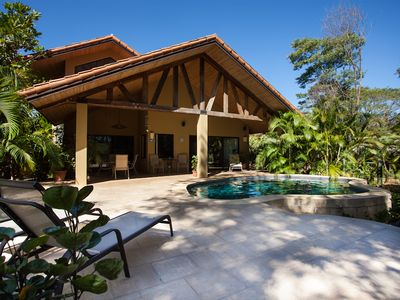 Playa Grande villa rental - Guanacaste Costa Rica house nestled in nature