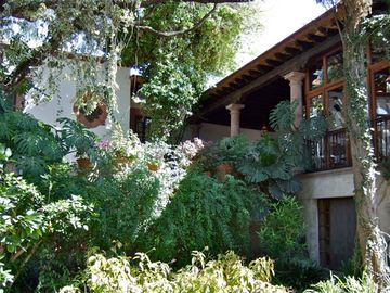 San Miguel de Allende villa rental - View of house seen from lower garde