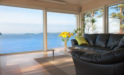 Beach house near Gothenburg with high standards and its own beach