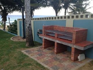 Arecibo villa photo - New Brick BBQ and additional beach shower