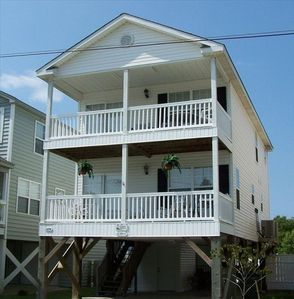 Enjoy the ocean breeze on your choice of balconies