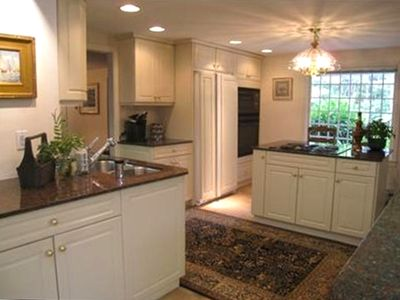 Updated kitchen with granite countertops