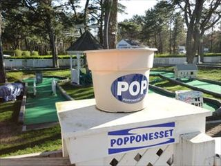 New Seabury cottage photo - Mini Golf for the kiddies @ Popponesset Marketplace