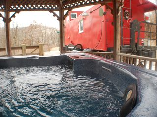 Soak your worries away - DeSoto cabin vacation rental photo
