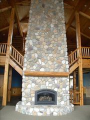 Menominee estate photo - Gas Fireplace in Great Room