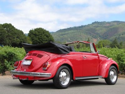 Our 1972 VW convertible is available for your in town excursions -