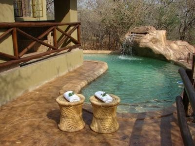 Mpumalanga - Kruger National Park villa rental - Khaya Romantica's Swimming pool