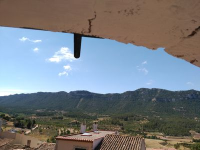 Apartment with views of the Montsant Natural Parc in Priorat.