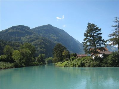 The lakes at nearby Interlaken