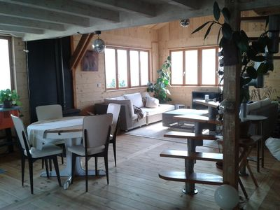 100m from the beach, nice and bright cottage 80m2- 4 people, 2 bedrooms