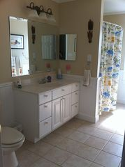 Montauk house photo - Large Bathroom for 2nd & 3rd Bedrooms