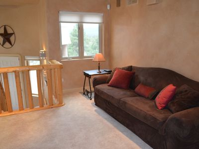 Pagosa Springs house rental - Sofa sleeper in upstairs landing.