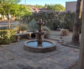 Ahwatukee house photo - Fountain in front courtyard