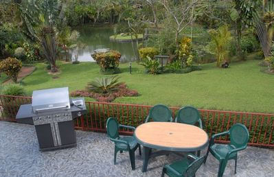 Nuevo Arenal villa rental - Pristine Gardens~~ enjoy a nice BBQ, after hiking our miles of Nature Trails.