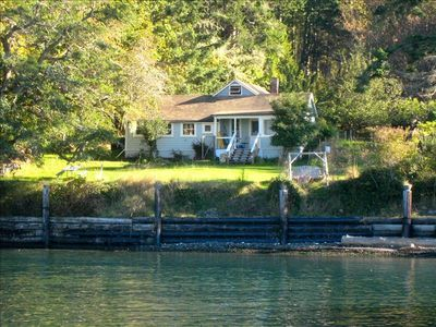 Cottage from the ferry landing