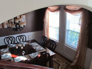 Dining Room off the Kitchen. Table for 8, but can work easily for 12. - Houston house vacation rental photo
