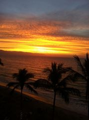 Puerto Vallarta condo photo - Another glorious sunset from your balcony!