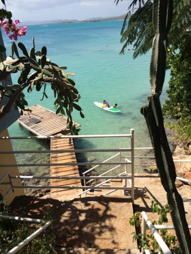 Steps to the Beach. Private Pier, Apt with paddleboard