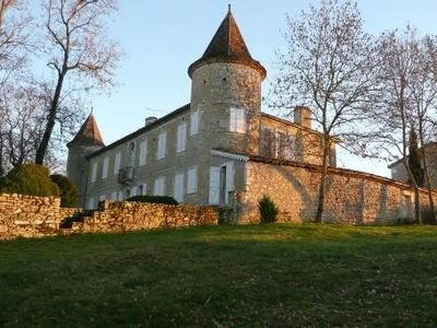 Magnificent castle Gascon sixteenth in gers 10 hp 20 people - Swimming Tennis