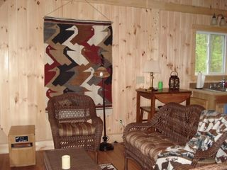Cozy salon - Franklin cabin vacation rental photo