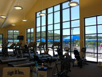 Fitness Room at the Homeowners' Club - guest access available.