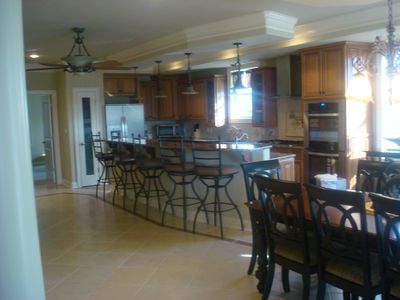 Brigantine house rental - kitchen 2nd floor