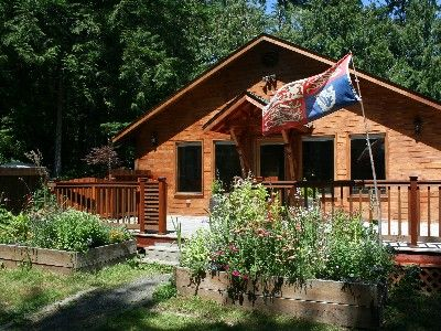 15 acre forest retreat on olympic peninsula homeaway for Cabin rentals olympic national forest