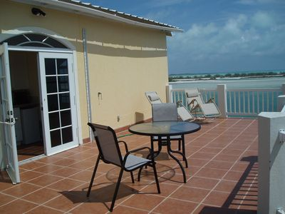 Great Exuma house rental - Balcony looking North