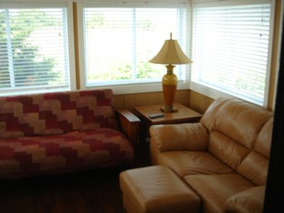 Point Judith cabin rental - Living Area