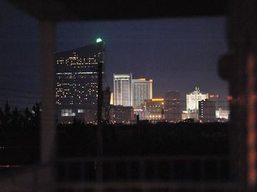 Night View of Atlantic City from the deck!