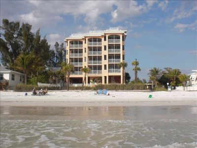 Cornerstone Beach Resort is located mid island-- 3 miles south of Times Square.