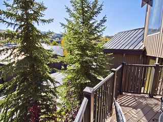 Deer Valley townhome photo - View from Kitchen Deck