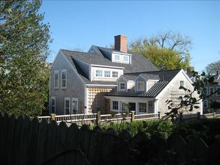 Nantucket Town house photo - View From Back