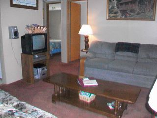 Westfield house photo - Living Room Area with TV for DVD/VCR ONLY - NO CABLE
