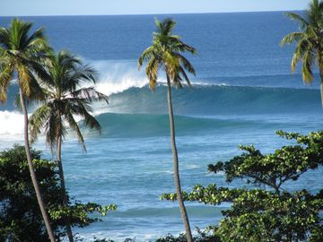 Surfs Up at Tres Palmas...