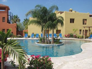 Loreto house photo - Community pool and jacuzzi, just steps away from your rental.