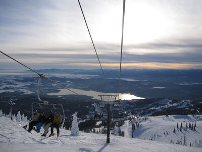 Whitefish Mountain Ski Resort, great hiking and mountain biking in the summer.