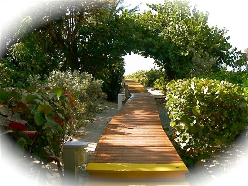 Board Walk to Private Beach on the Gulf of Mexico
