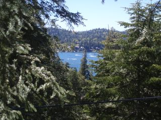 View from deck - Lake Arrowhead cabin vacation rental photo
