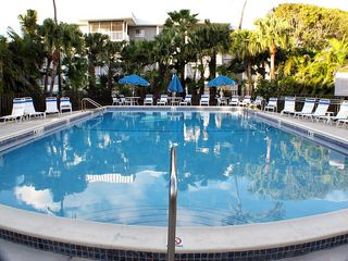Sanibel Island condo photo - Beautiful heated pool at Island Beach Club