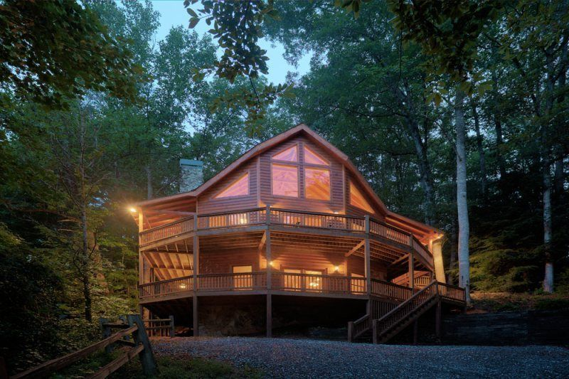 Ellijay holiday house hidden valley paradise ellijay ga for Ellijay cabins for rent by owner