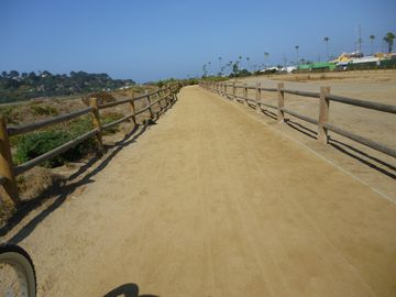 Neighborhood bike trail