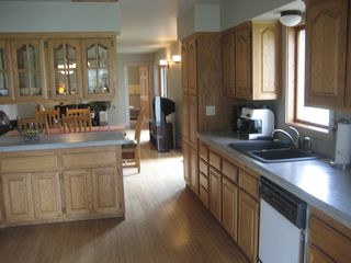 Kalispell house photo - Fully outfitted kitchen