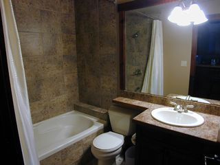 Canmore condo photo - Main bathroom